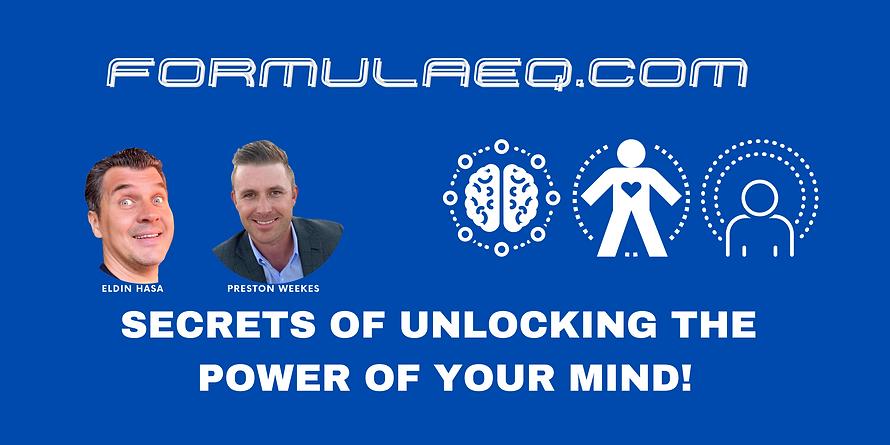 SECRETS OF UNLOCKING POWER OF YOUR MIND!