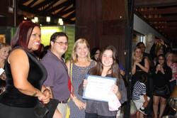 student Renay Rossy awards