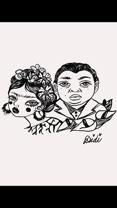 SPECIAL ORDER-Frida y Diego tee