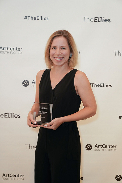 Juana Meneses at the Ellies Awards