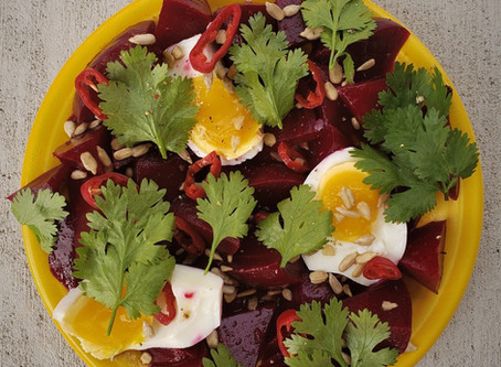 Sweet and Spicy Beets