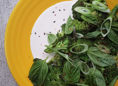 Tonnato and Charred Broccoli
