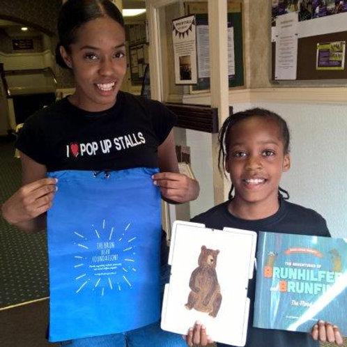 The Brun Bear Foundation Book Bag