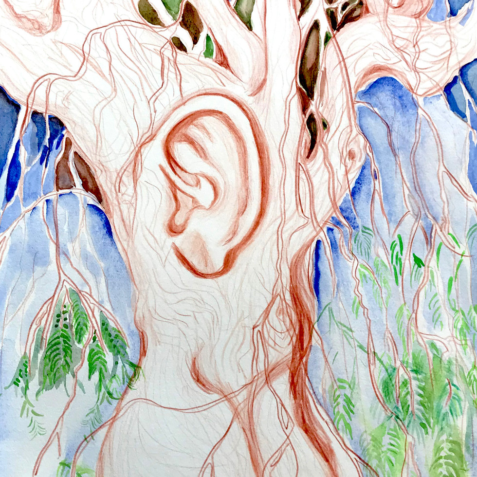 Earie Tree Listens in