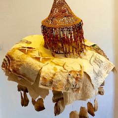 Tea Lamp Hat; Cow