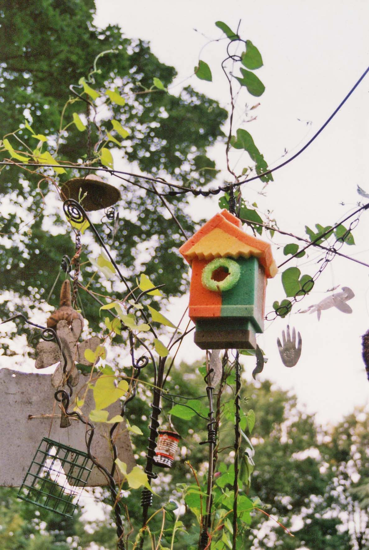 Summer's Lucky Charms Bird House