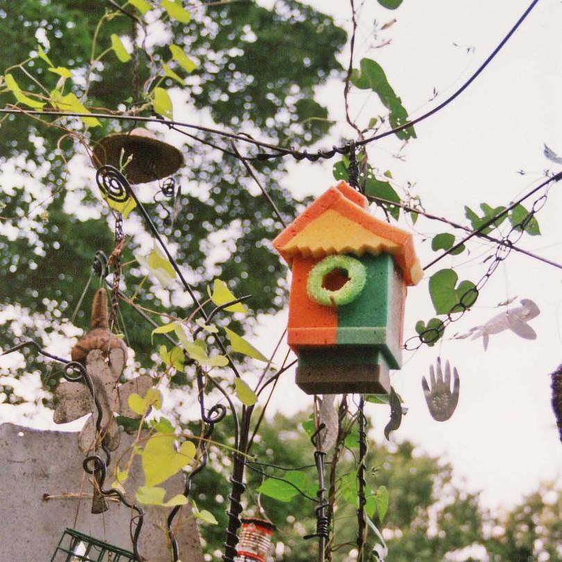 Summer's Lucky Charms Bird House