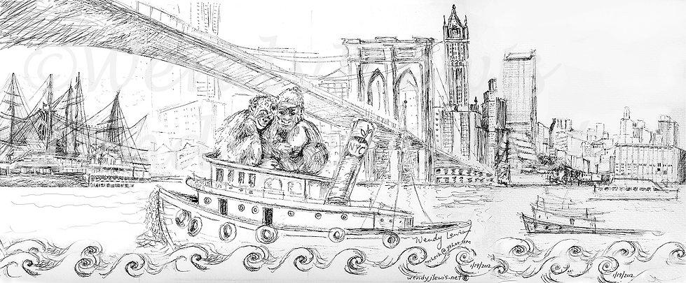 Gorillas On The Hudson.jpg