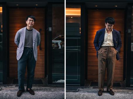 西裝穿搭 - 綁帶西裝褲 (Drawstring Trousers)