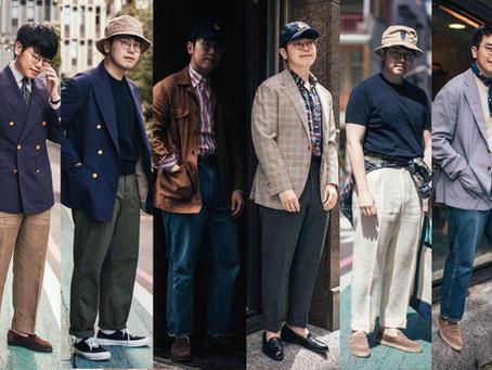 經典男裝穿搭 - 初夏5-6月