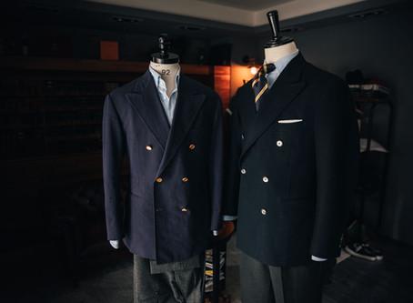 深藍雙排扣外套 - 最實用的西裝外套?