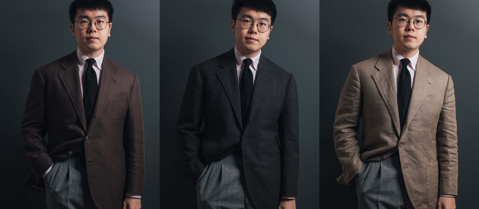 比較 - 羊毛、棉、麻西裝外套