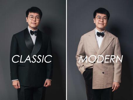 西裝穿搭 - 傳統禮服 v.s. 現代禮服