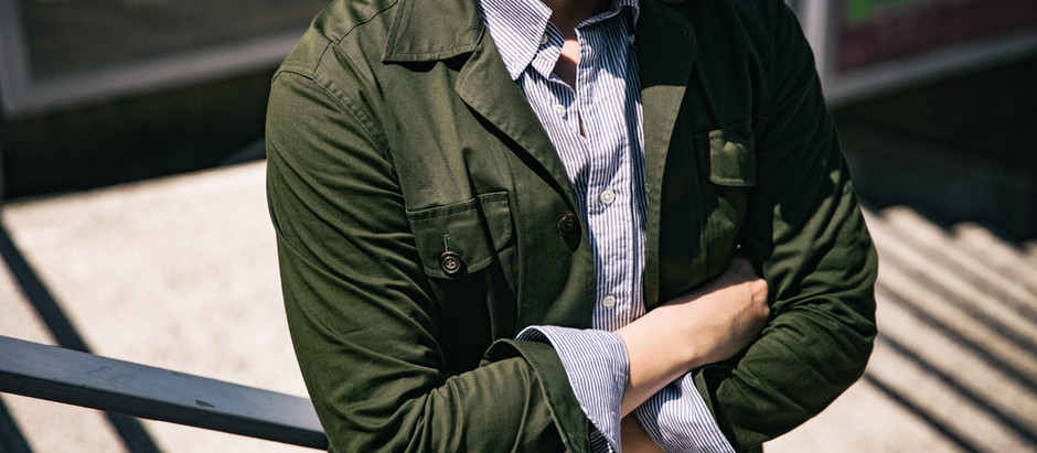 SAFARI JACKET:SPRING/SUMMER