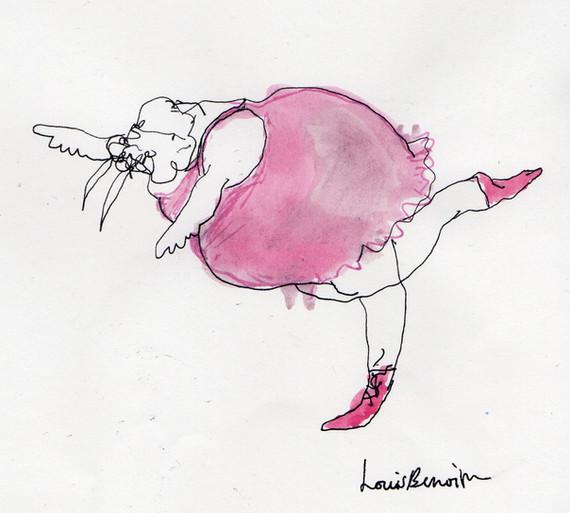 Walrus In a pink tutu