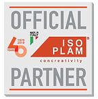 etichetta official partner con 40 anni e