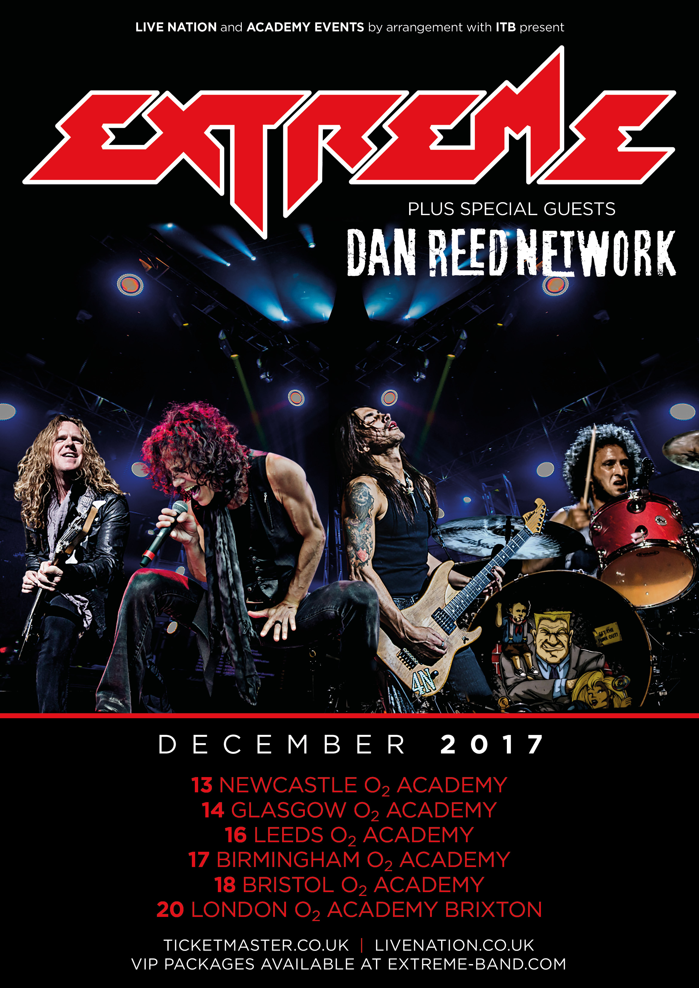 Extreme Uk Tour December 2017 Extreme The Official Website