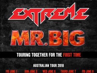 EXTREME & MR. BIG AUSTRALIA 2018
