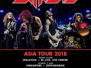 EXTREME ASIA TOUR 2018!