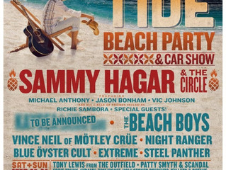 EXTREME at Sammy Hagar's High Tide Beach Party on Sep 29th