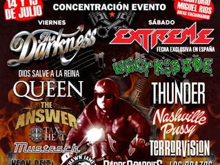 Garage Sound Festival in Madrid, Spain on July 15th. Tickets on sale at: https://goo.gl/0sKADh