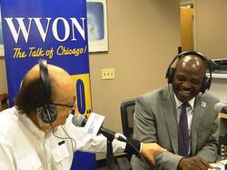 WVON Radio Personality Cliff Kelley