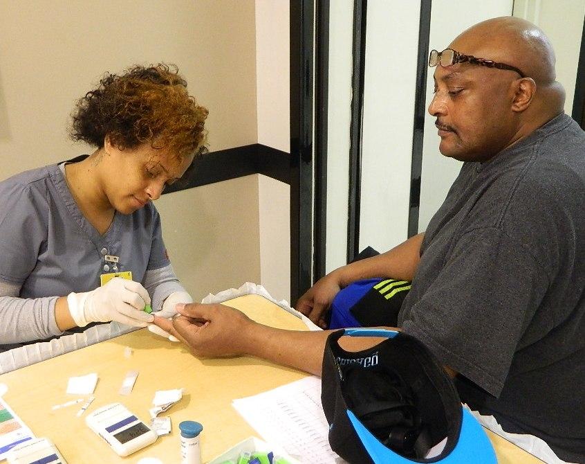 Men Receive Free Glucose Checks