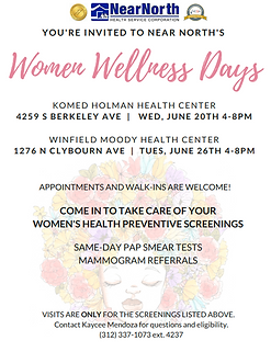 Women's Wellness Days