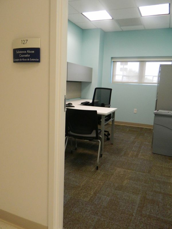 Substance Abuse Counselor Room