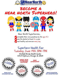 Superhero Health Fair