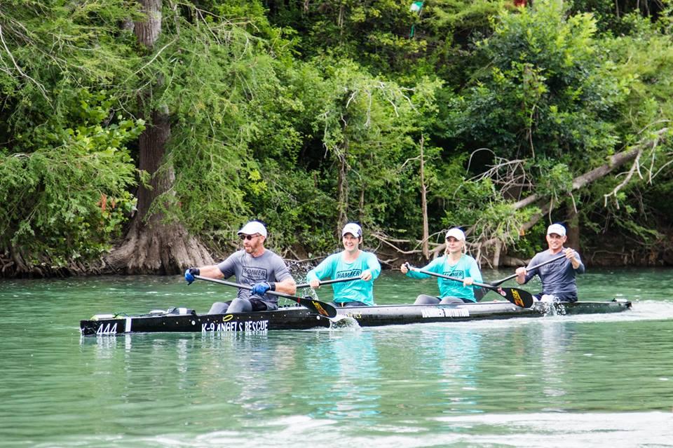 Texas Water Safari paddlers