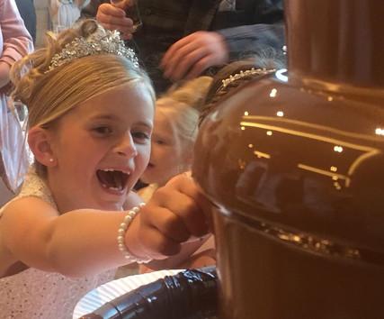 Kids love Chocolate