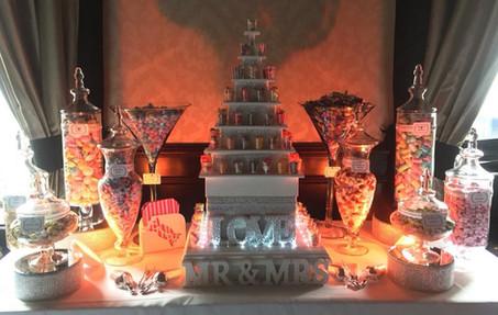 Pyramid Sweet Table