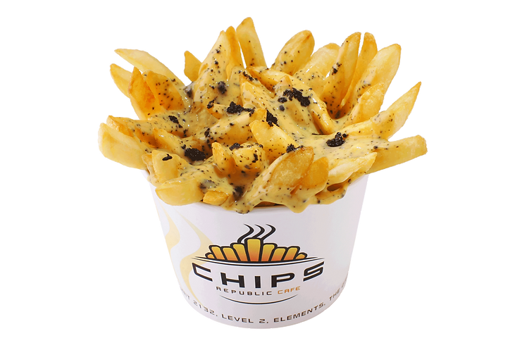Black Truffle Cheese Chips