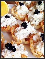 Canape Caviar Chips Republic Catering Hong Kong
