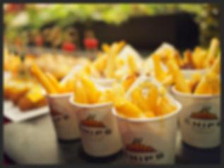 Canape Burger Chips Republic Catering Hong Kong
