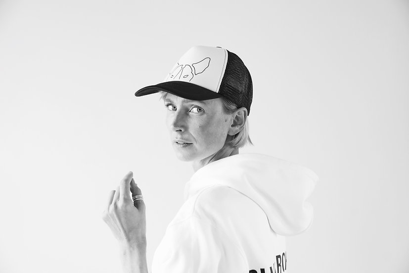 Cap Face - WHITE