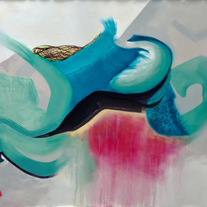 This Reality, oils on primed canvas, 160 cm x 200 cm.