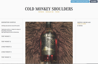 Cold Monkey Shoulders                             A New Whisky Blog to start following.