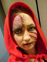 Theatergrime - roodkapje