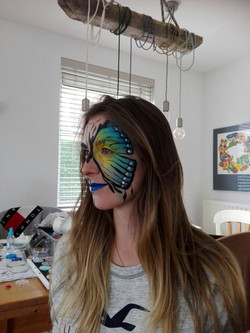 Vlinder skellet
