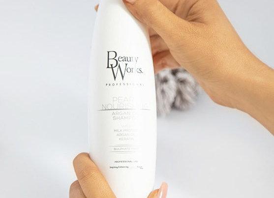 Beauty Works Pearl Nourishing Argan Oil Shampoo (Sulphate Free) 250ml