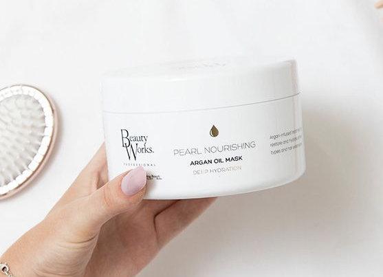 Beauty Works Pearl Nourishing Argan Oil Mask 500ml