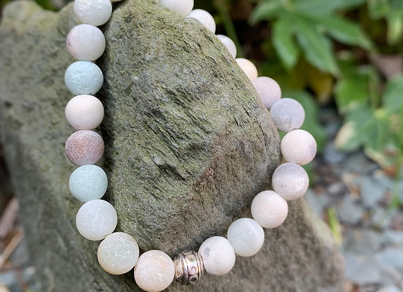 Semi-Precious Aventurine Stone Bracelet