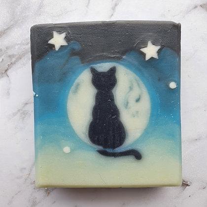 Mystic Moon Kitty - Handmade Soap