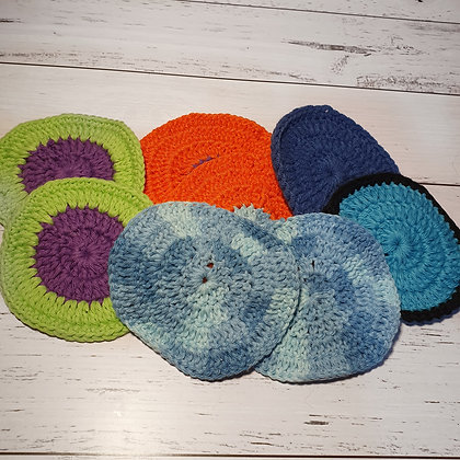Cotton Face Scrubbies - Pack of 2