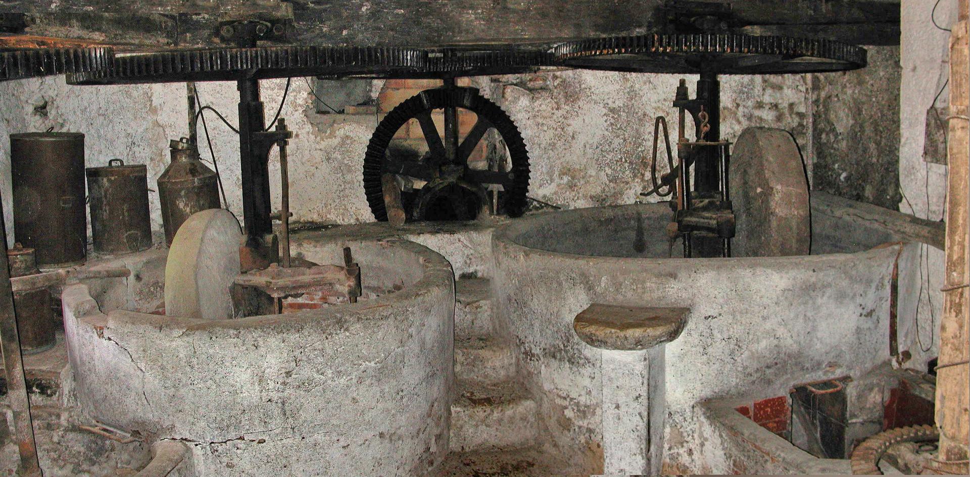 Moulin à huile d'olive