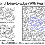 joyful with pearls