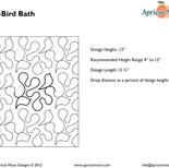 AM-Bird Bath