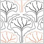 Ginko Leaf Clamshell